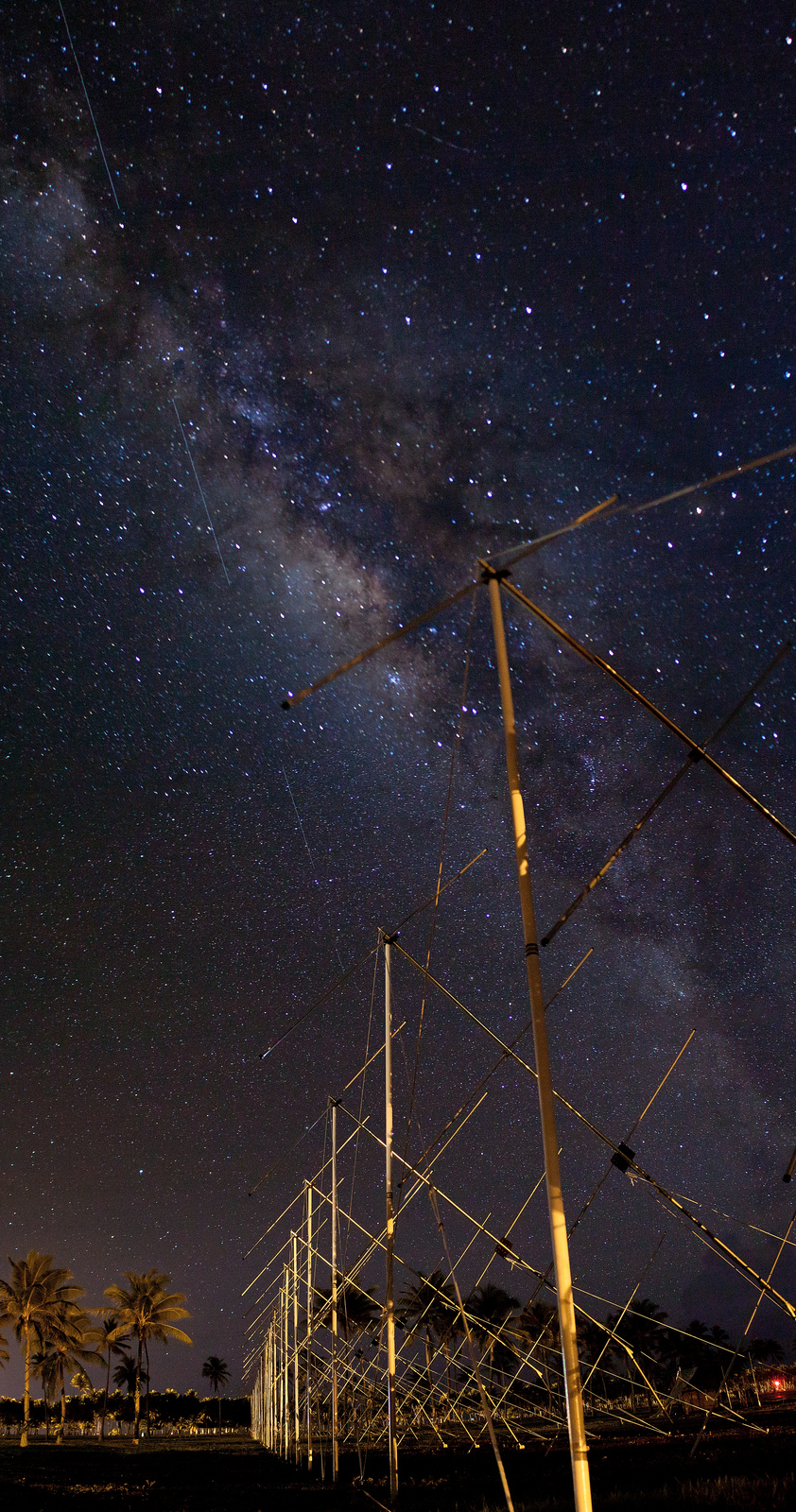 Milky Way and the Antenna2
