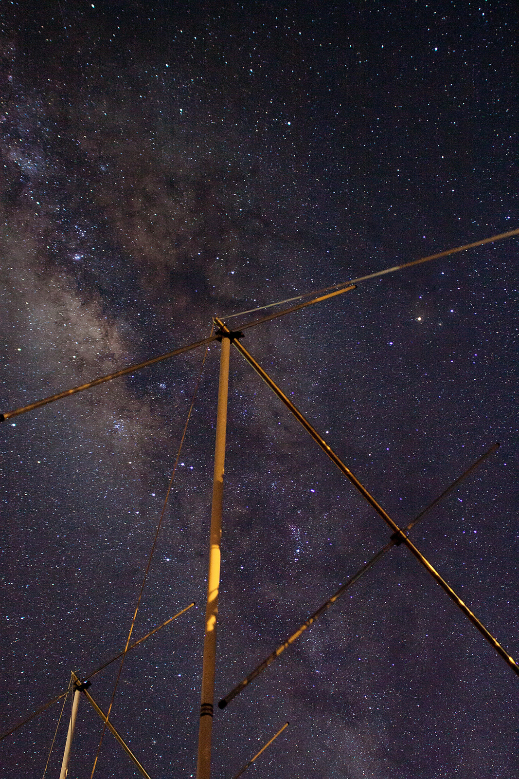 Milky Way and the Antenna3